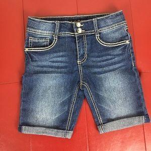 Vanilla Star Junior Girls Jean Shorts Size 14